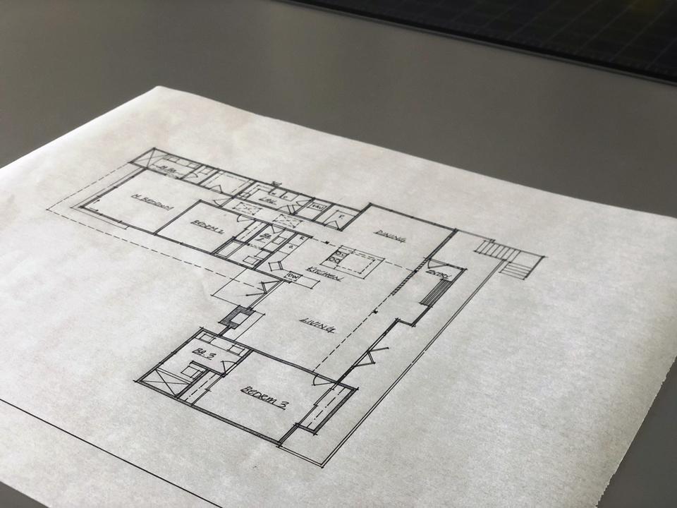 schematic floor plan / on the boards in niguel west