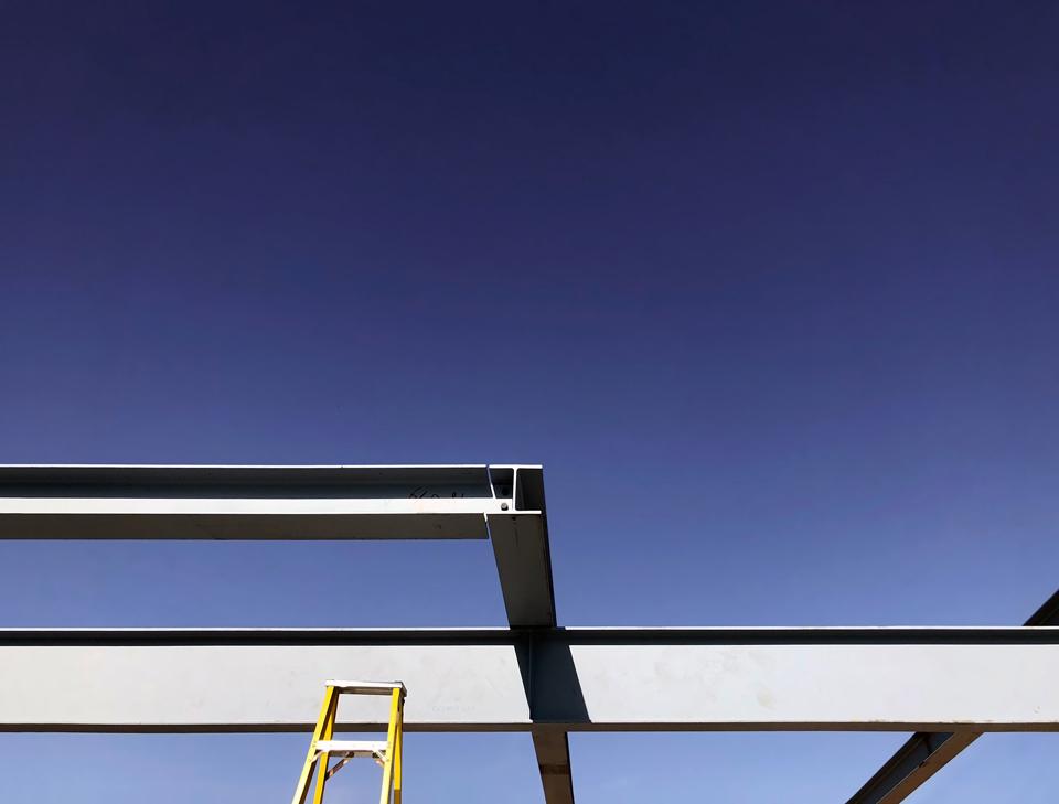 concrete, steel + site visit snapshots