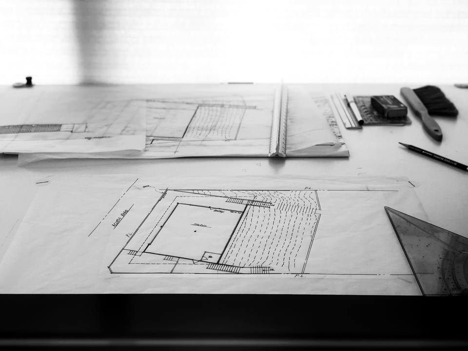 partial site plan / new construction, lake forest