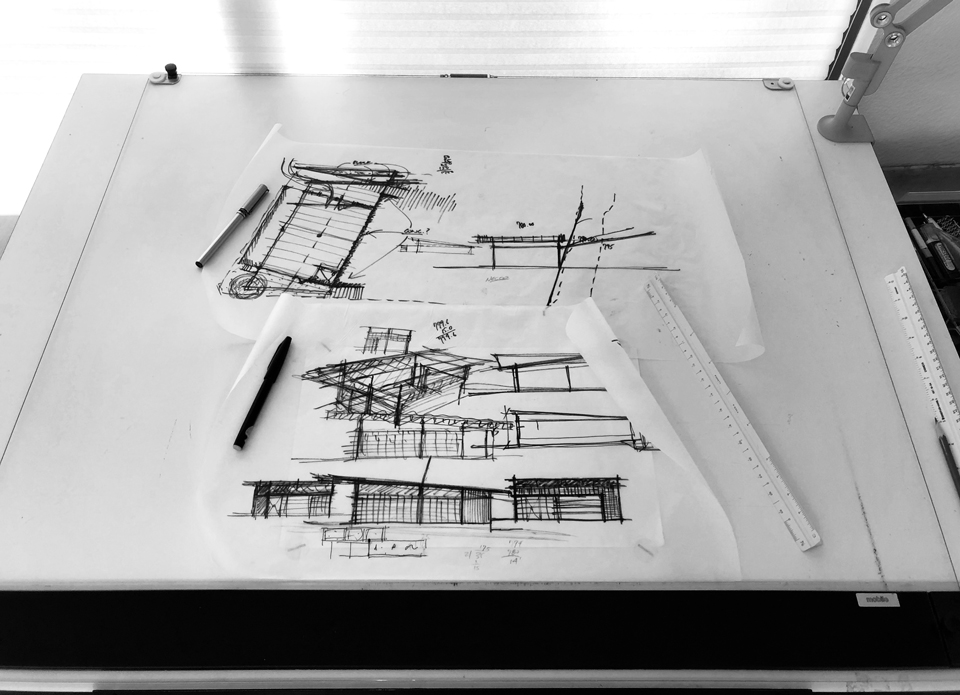 architectural design drawings- new residential design