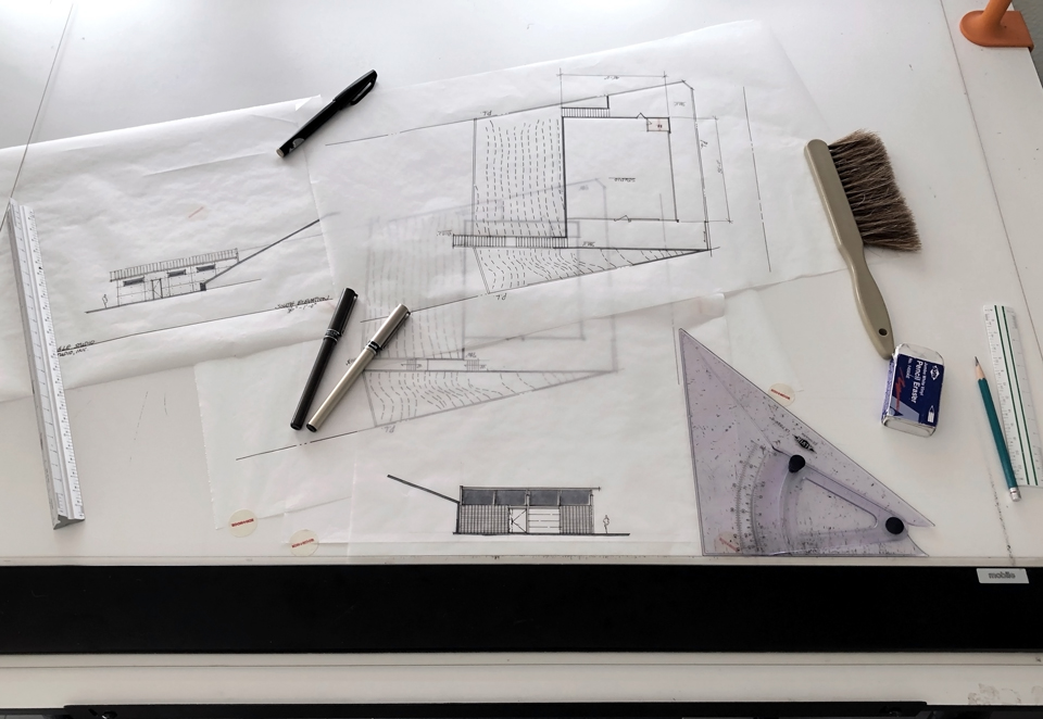 design drawings /   lake forest studio