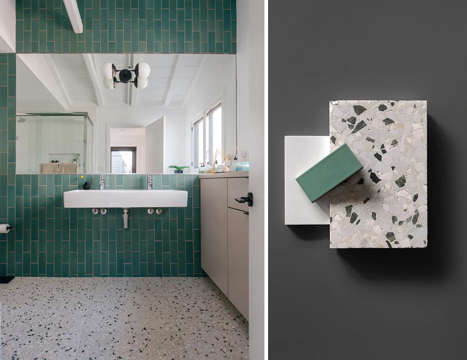 Contemporary Color + Creative Bath Design     /  dana point, ca