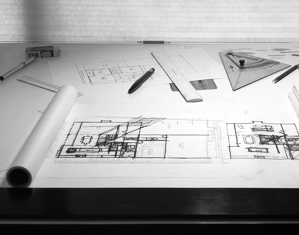 Schematic Design: On the Boards   /  huntington harbour, ca