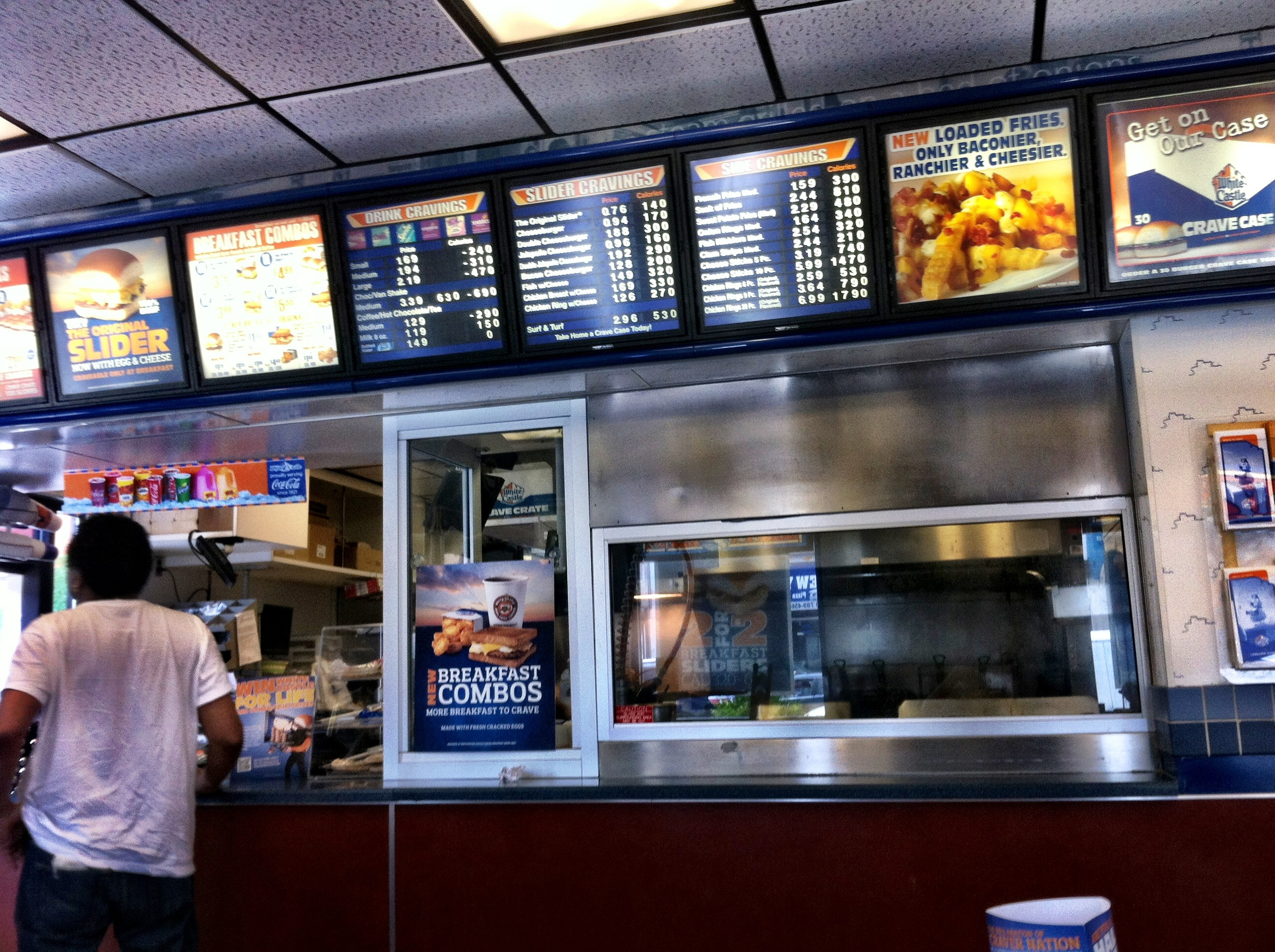 White Castle Counter.JPG