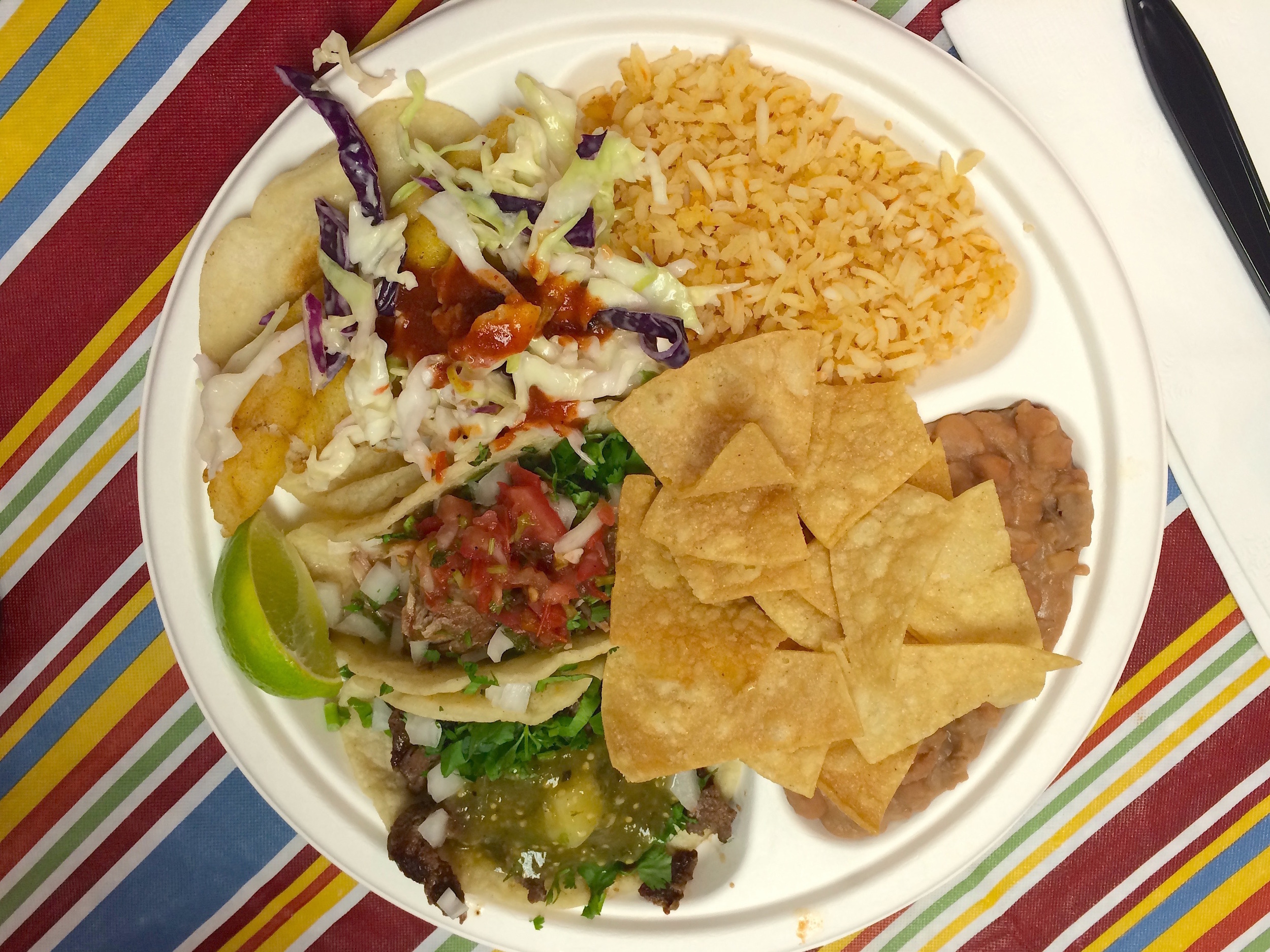 Pinches Taco Plate