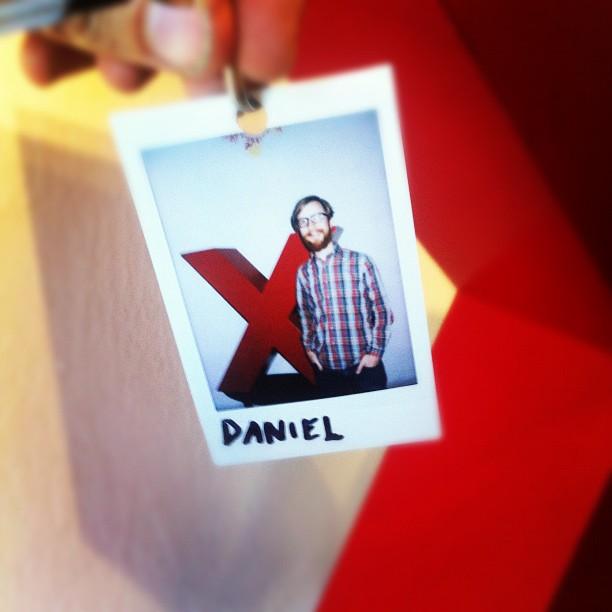 TEDxSacramento volunteer Daniel Block