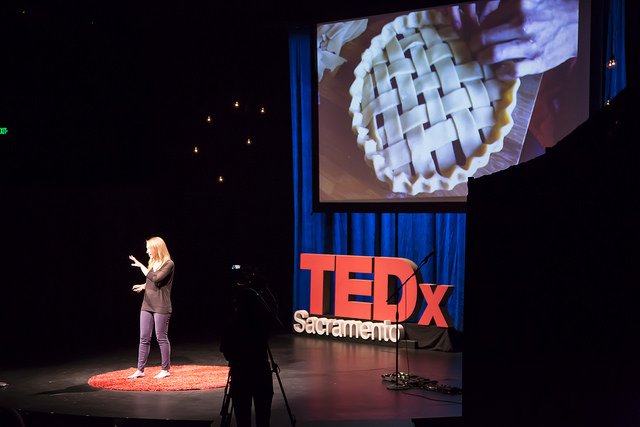 "Emily Castor speaking about the sharing economy at TEDxSacramento's ""This Changes Everything: Seeds of Change"" event on September 26, 2014."