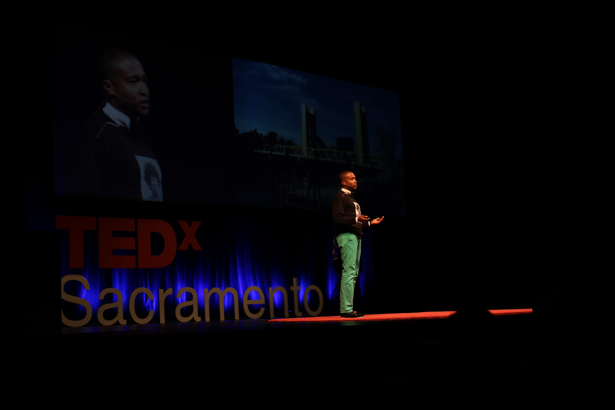 Changemaker Fellow Tre Borden,  TEDxSacramento, 2015