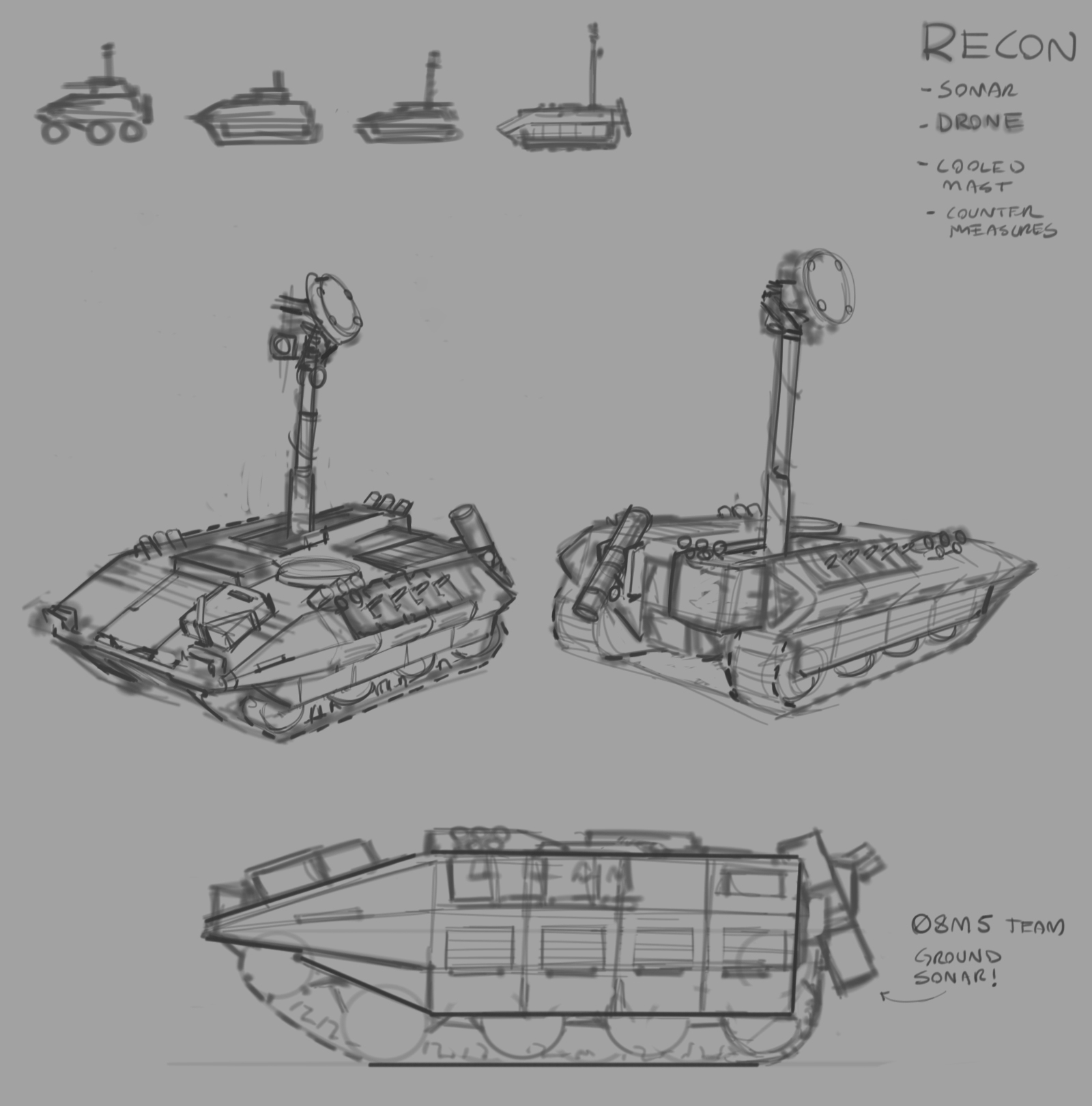 Ended off with a Coyote-esque recon LAV.