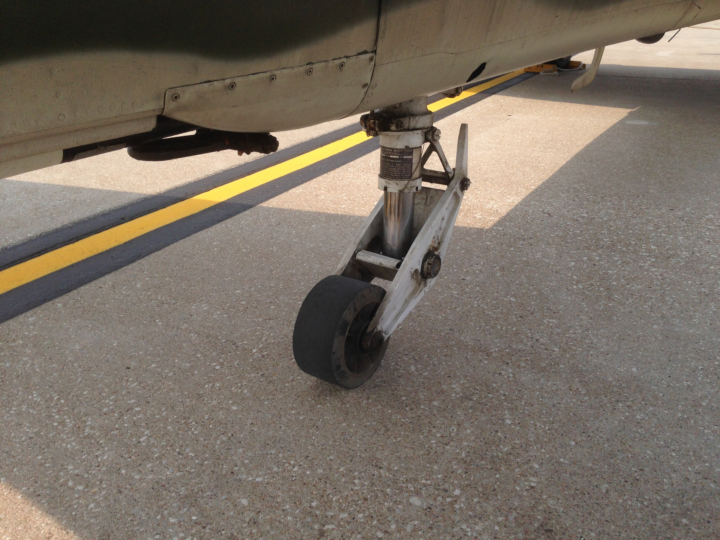 Landing gear used to be a lot simpler...