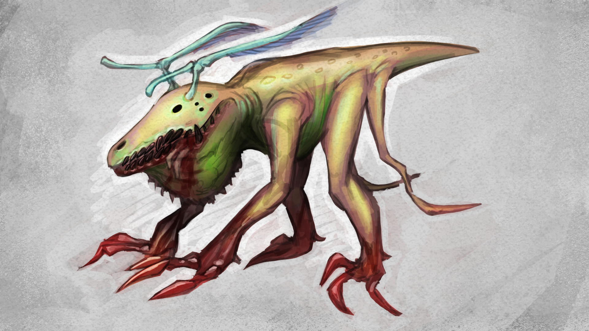 Creature: Tail + Sac