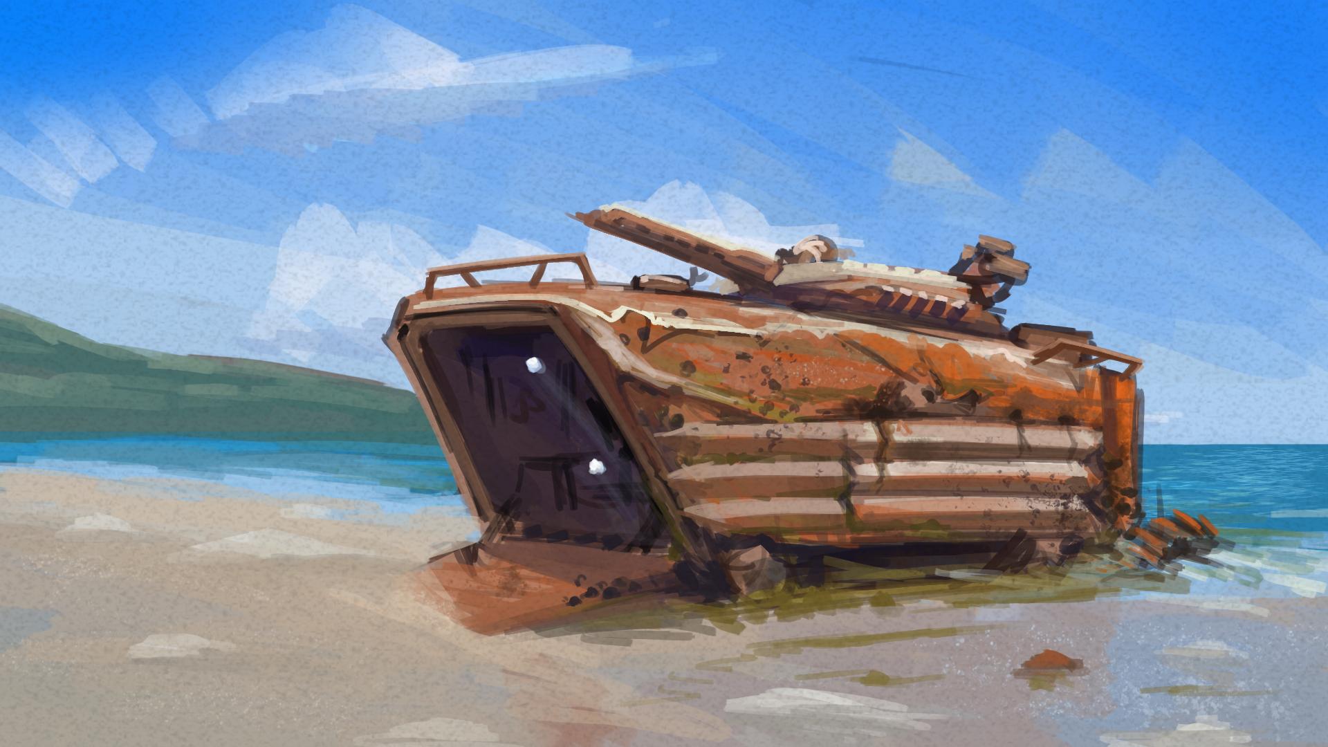 Amphibious + Wreck - 30m