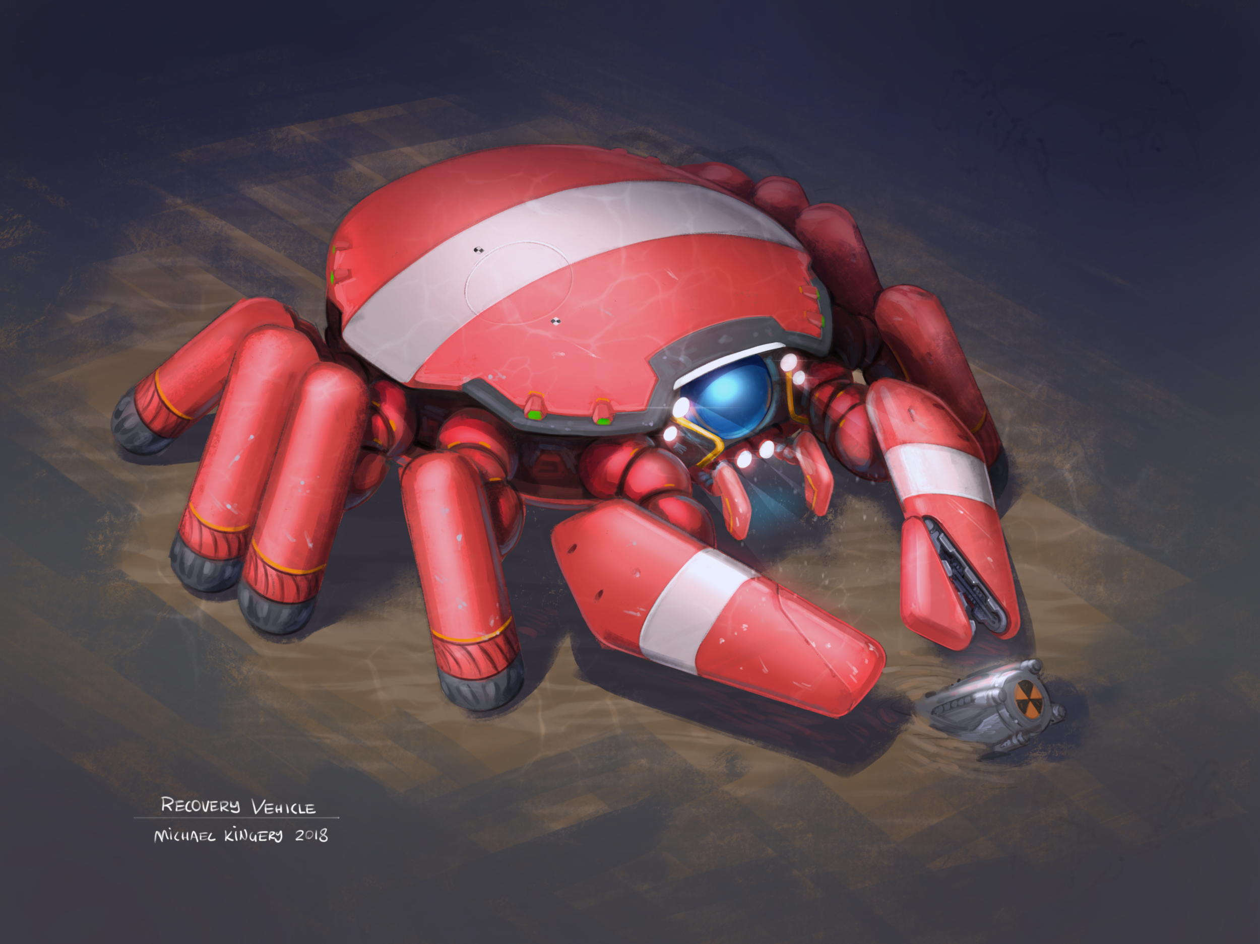 Submersible Recovery Vehicle
