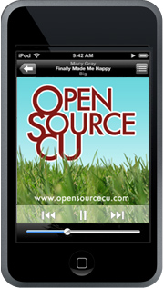 Open Source CU Podcast     This is a great podcast. Trey and Brent from Trabian are the affable hosts and bring a mix of random commentary and recorded conference speeches. My only criticism is the lack of consistent publishing. Come on guys, get one a month out!