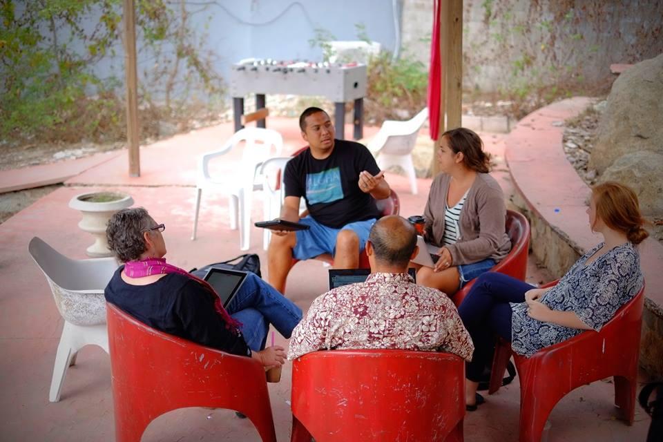 Our first YWAM Ships Mazatlan staff meeting
