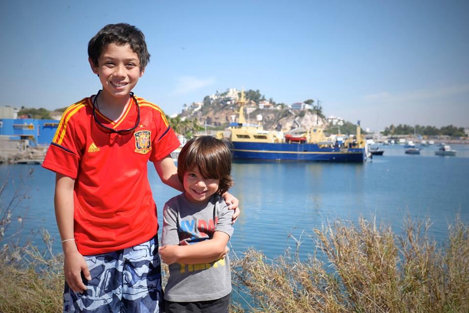 Noah Ebio & Noah Hobbs, future crew of YWAM Ships Mazatlan