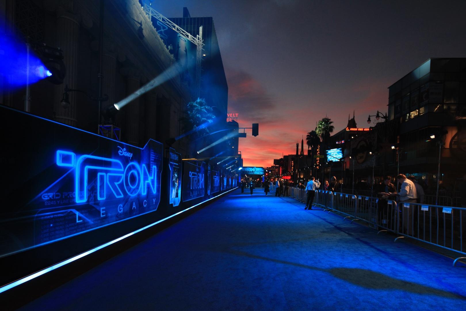 Tron Premiere