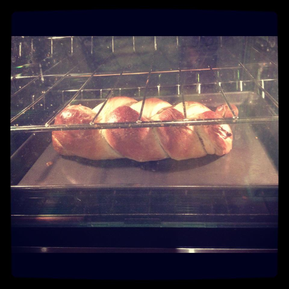 "From Brooke M. Jackson on Facebook:  Made some challah to share with friends; and won over a hesitant reader this week who was inspired to join our Dec. 1st discussion after reading a ""review"" by someone who didn't read the book."