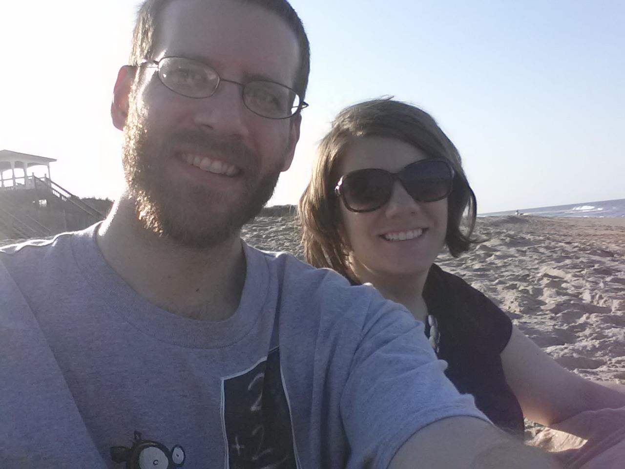 Team Dan & Rachel go to the beach (OBX)