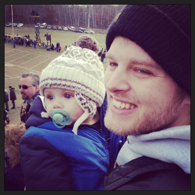 Ben and his adorable nephew