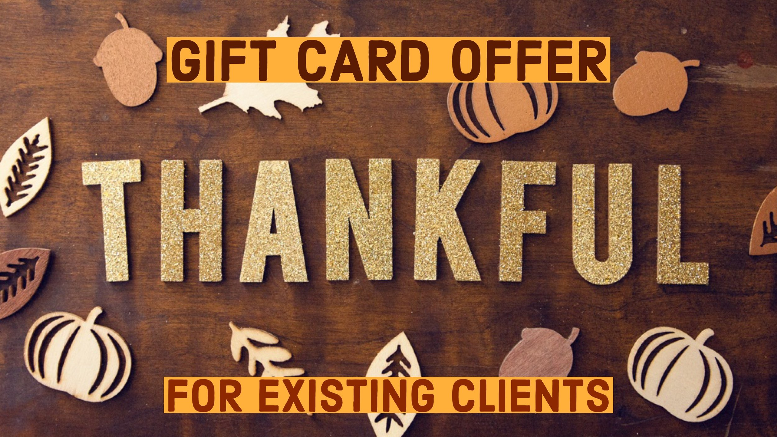 Nice Guy Technology LLC - 2018 Gift Card Offer For Existing Clients