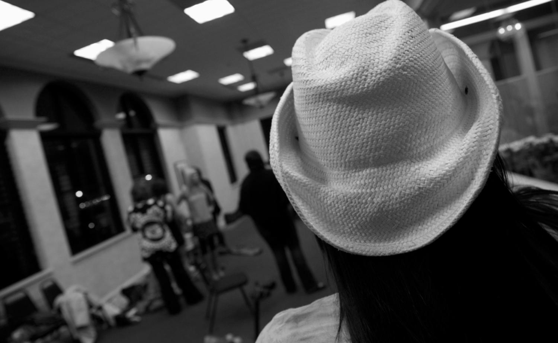 Backstage Winter Fashion Show 2013