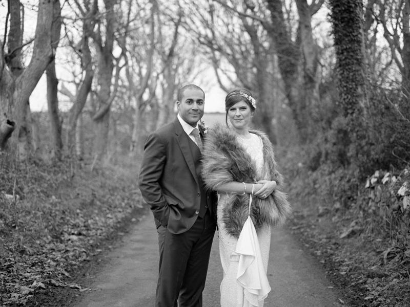 Medium Format Wedding Portraits