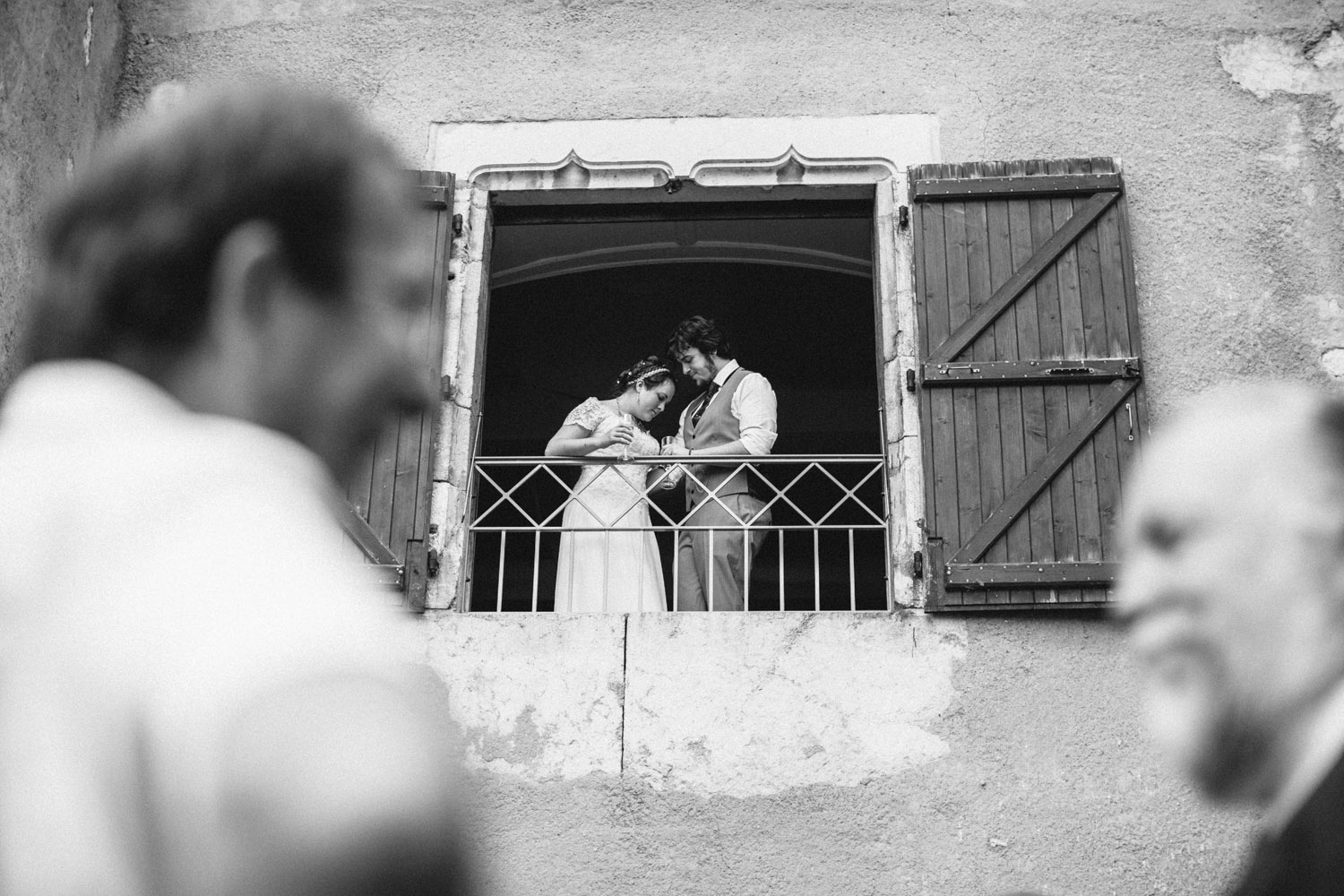 Creative French Wedding Photography