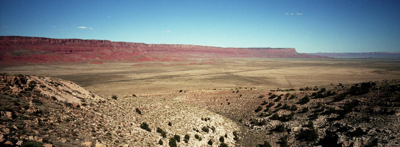 VERMILLION CLIFFS, AZ / HASSELBLAD XPAN / PORTRA 400
