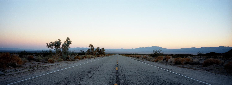 MOJAVE DESERT, CA / HASSELBLAD XPAN / PORTRA 400