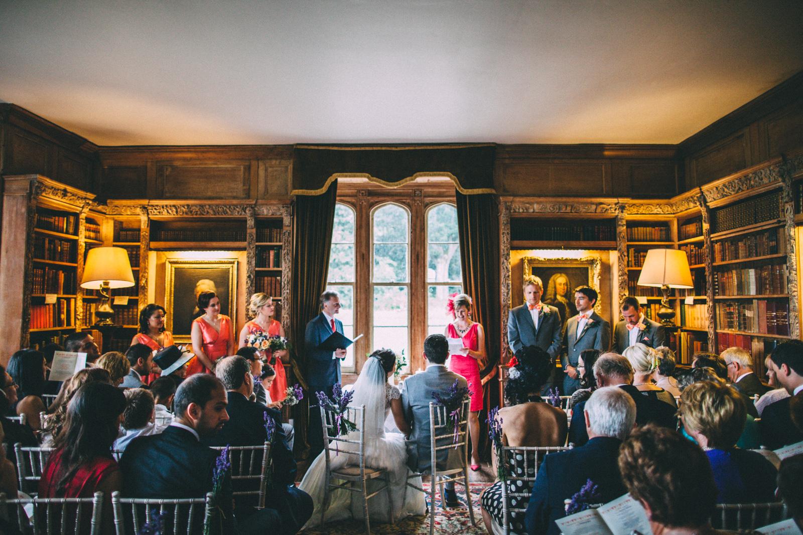Lisnavagh House Wedding Ceremony