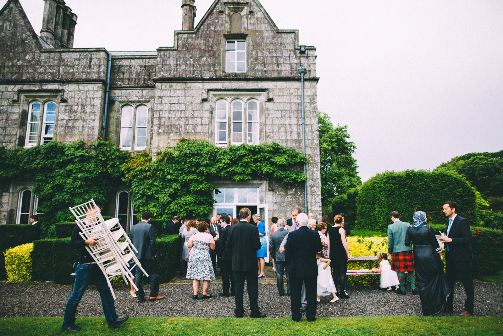 Lisnavagh House Wedding Ceremony