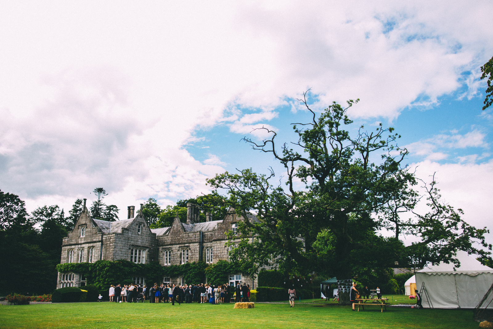 Lisnavagh House Wedding