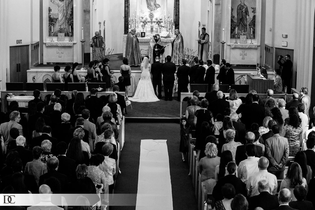 A traditional wedding at St. Peter's Armenian Church in Van Nuys