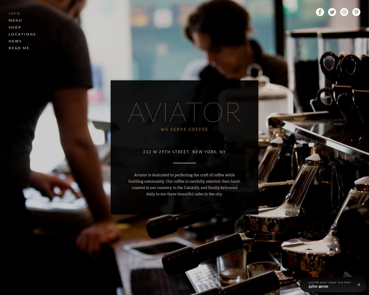 Aviator -  View in Template Store