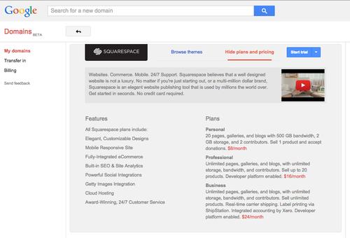 Squarespace x Google Domains — The Official Squarespace Blog