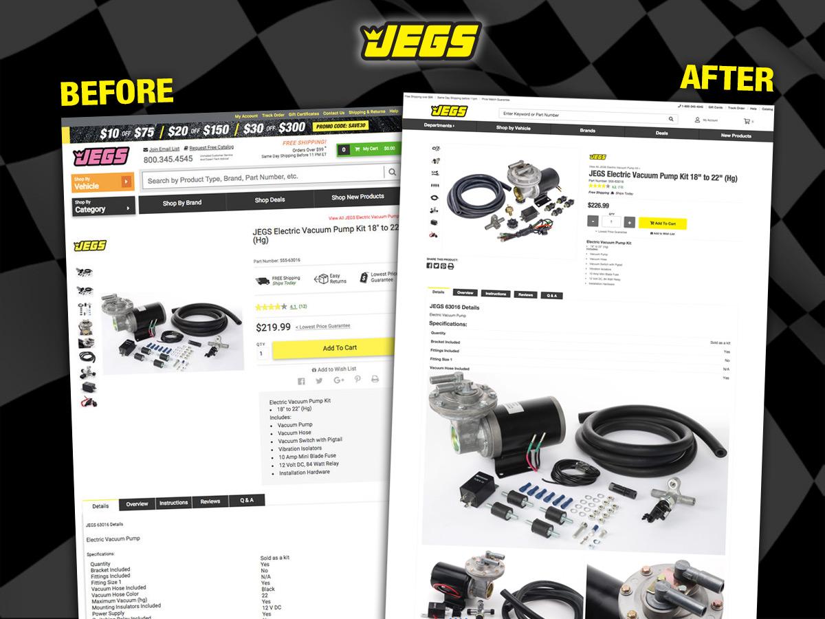 Product Description Page