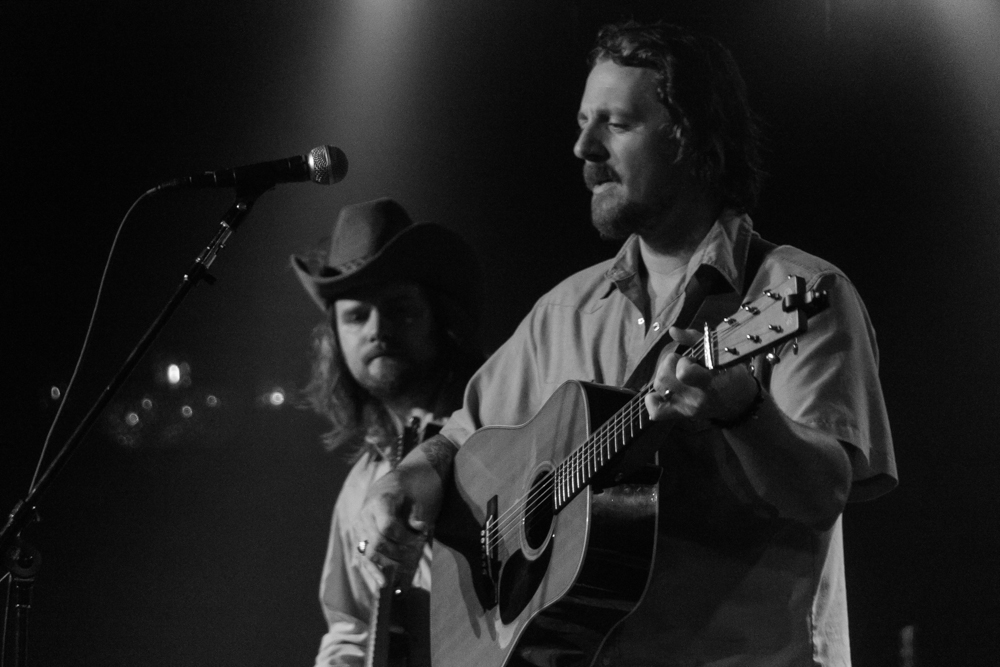 Sturgill Simpson laying down some truth at The Birchmere last week.