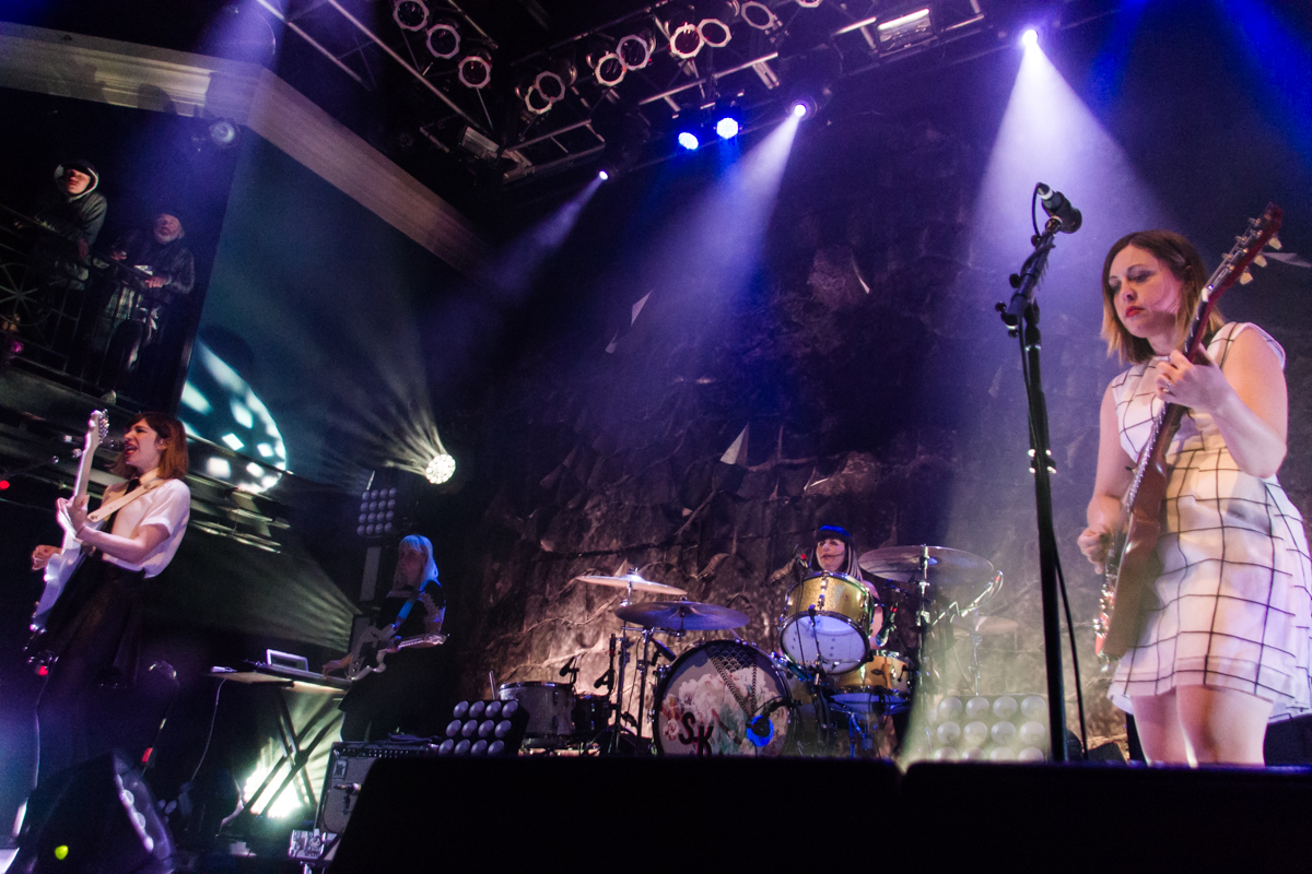 Sleater Kinney @ The 9:30 Club in Washington, DC - 2/24/15