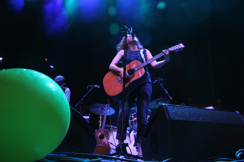 Neko Caseopening for My Morning Jacket at Merriweather Post Pavilion (Photo by Kevin Hill)