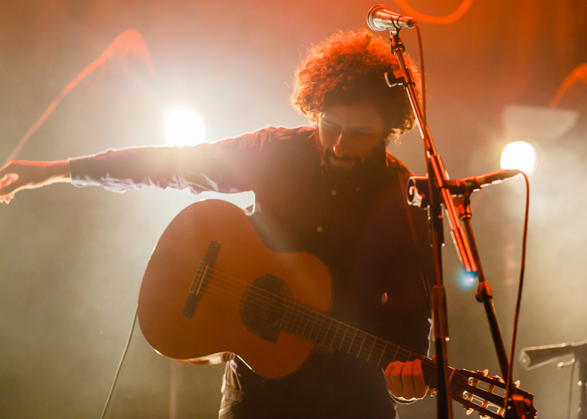 José González keeping it sparse and beautiful at the 9:30 Club - 3.7.15. (Photo by Matt Condon)