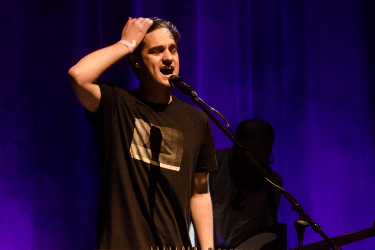 Louis Weeks at The Howard Theatre in Washington, DC  - 5/28/15