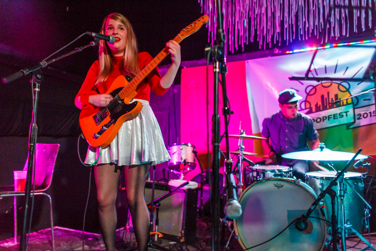 Jessica and The Fletchers at 2015's NYC PopFest
