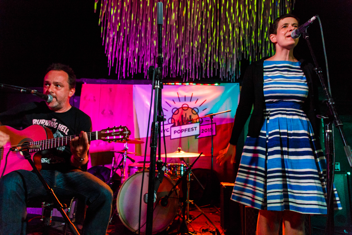 The Catenary Wires at 2015's NYC PopFest