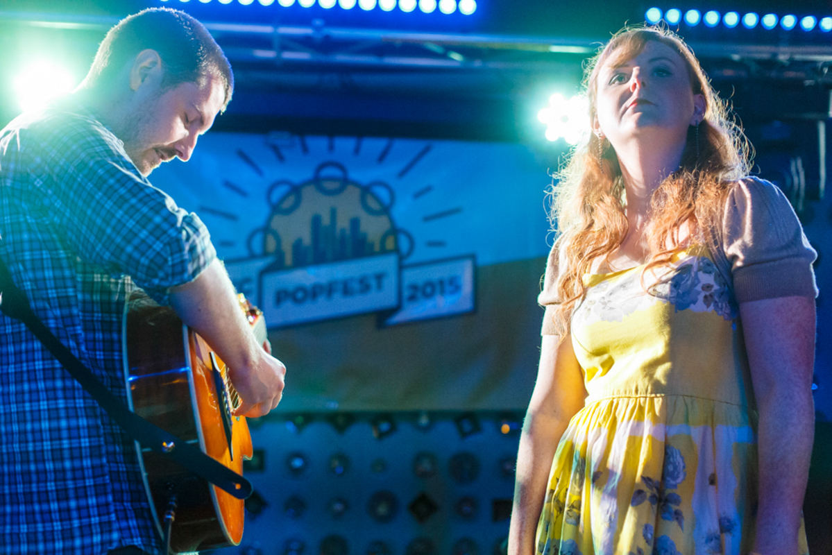 The Just Joans at 2015's NYC PopFest