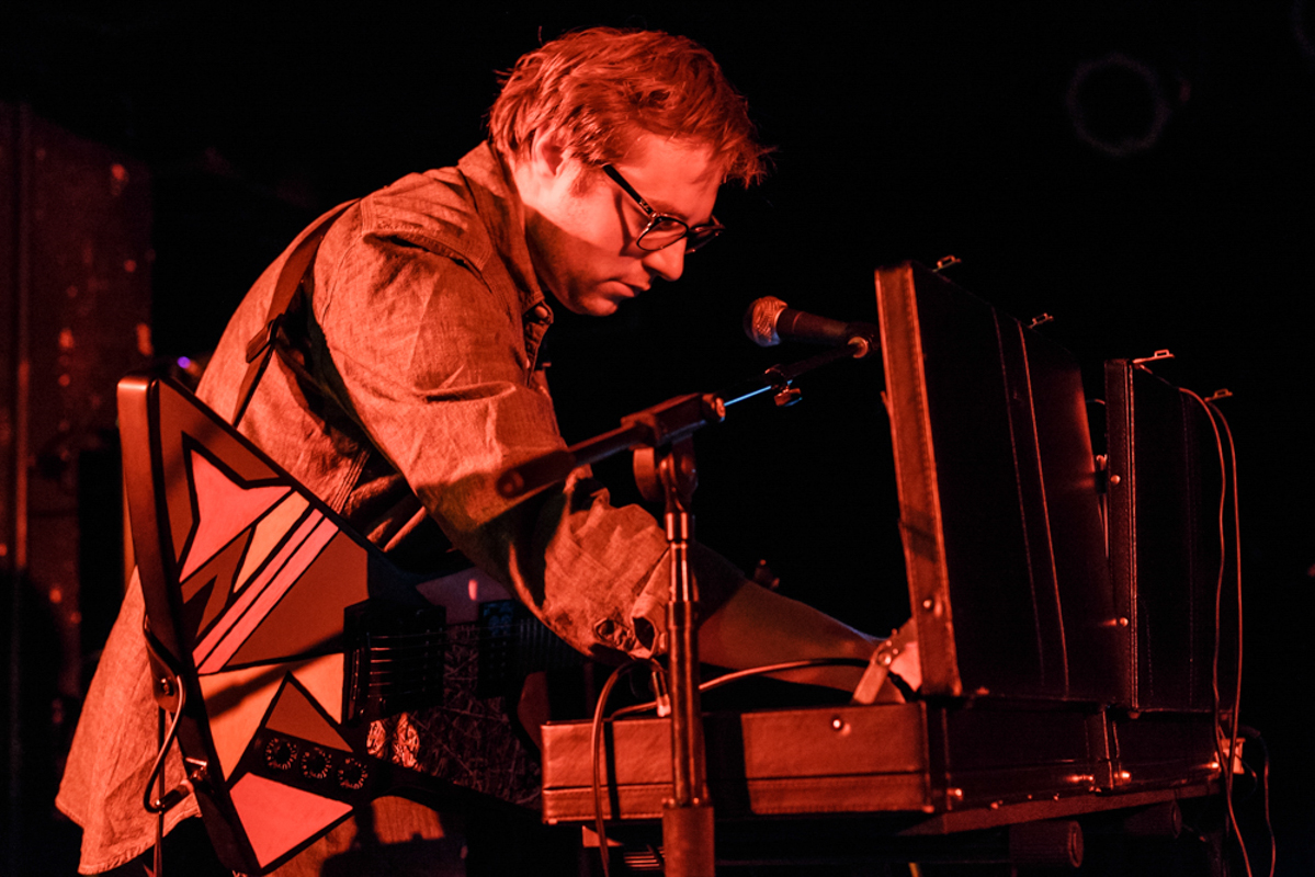 Julian Lynch opening for Wire at the Black Cat in Washington, DC - 6/6/15 (photo by Matt Condon)