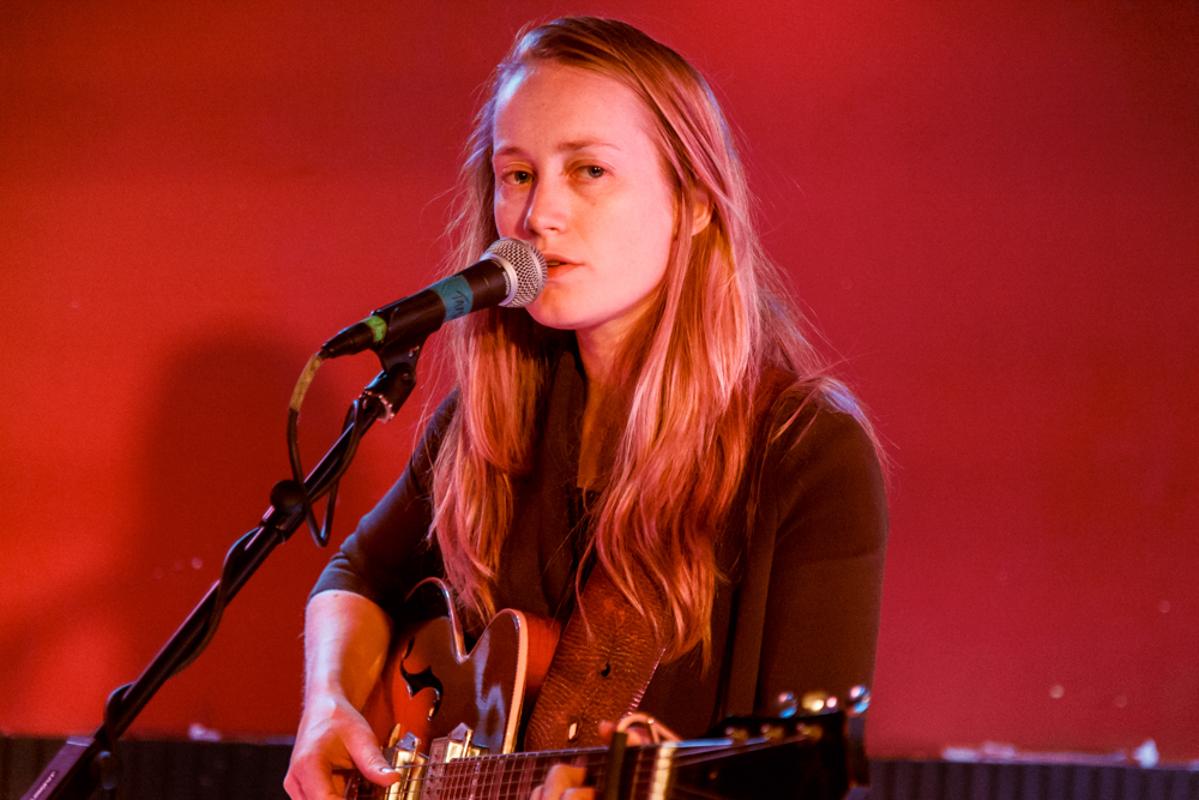 The Weather Station, aka Tamara Lindeman, performing at DC9 - 7/17/15 (photo by Matt Condon)