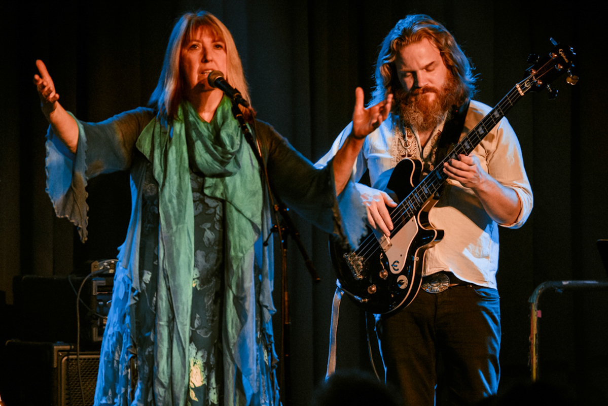 Maddy Prior, one of the original members of Steeleye Span performing with the bands reinvigorated lineup at The Birchmere. - 7/17/15 (photo by Matt Condon)
