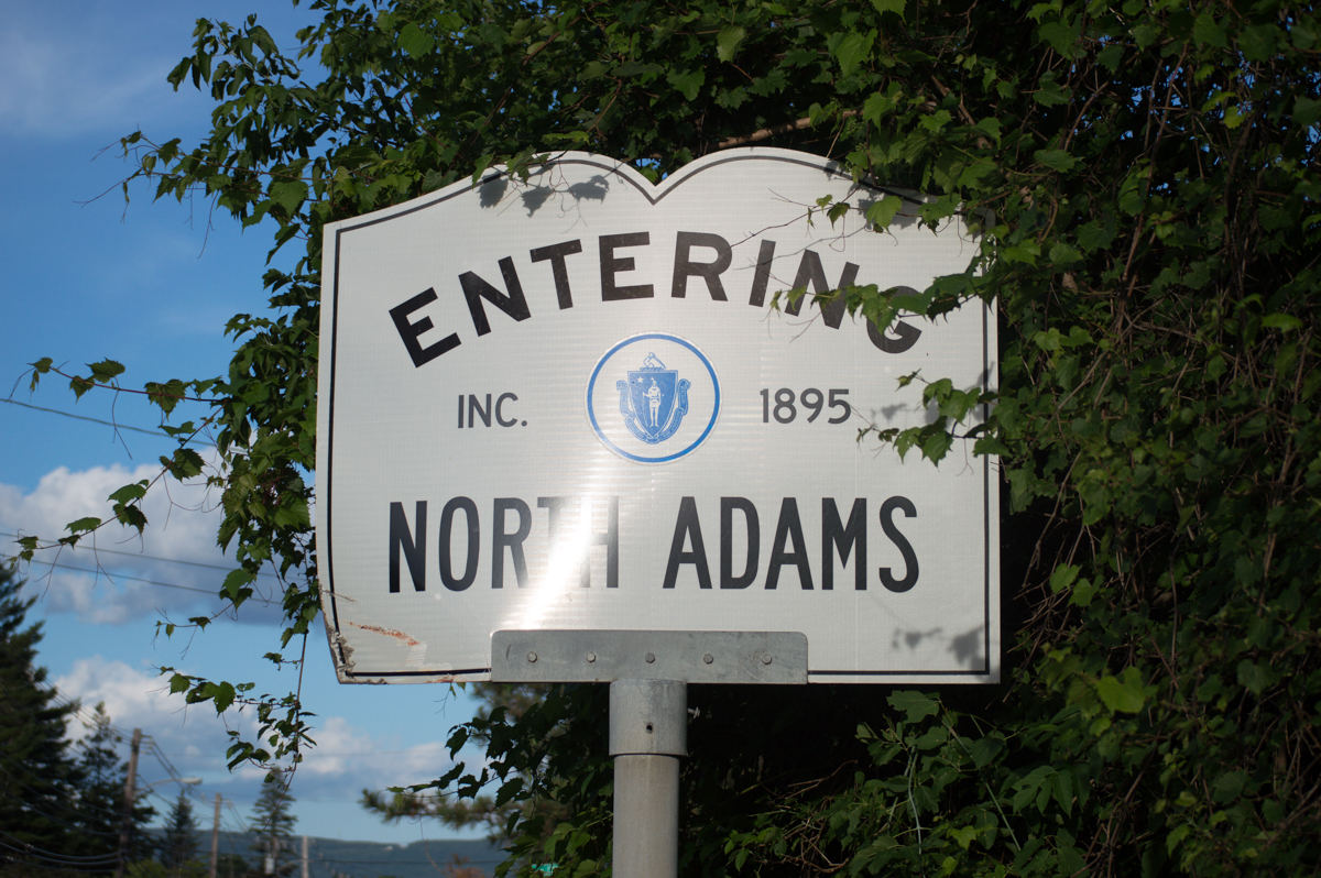 Life may be a journey, but North Adams is our destination.   (photo by Patrick Jacobi)