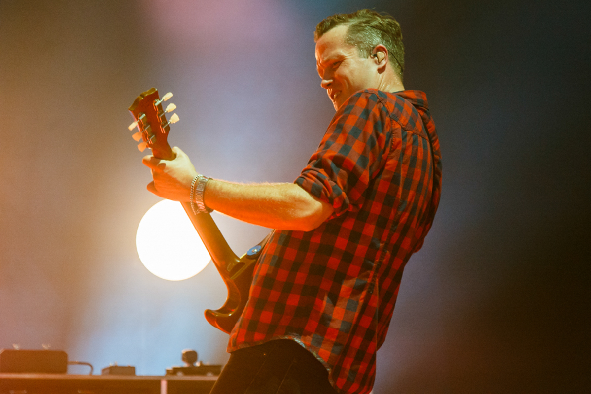 Jason Isbell opening for My Morning Jacket at Merriweather Post Pavilion in Columbia, MD - 7/26/15 (Photo by Matt Condon)